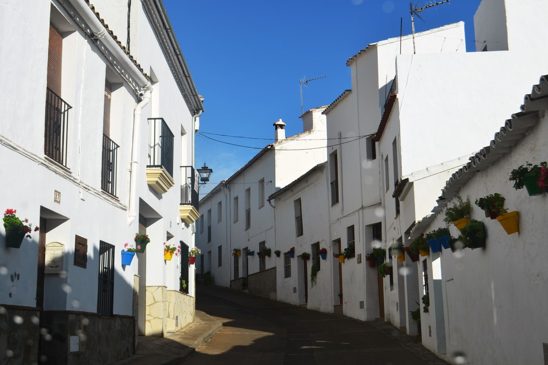 Pueblo Blanco village in Andalucia Spain, one of the best things to see in Andalucia. Try to stay at a pueblo blanco if you visit!