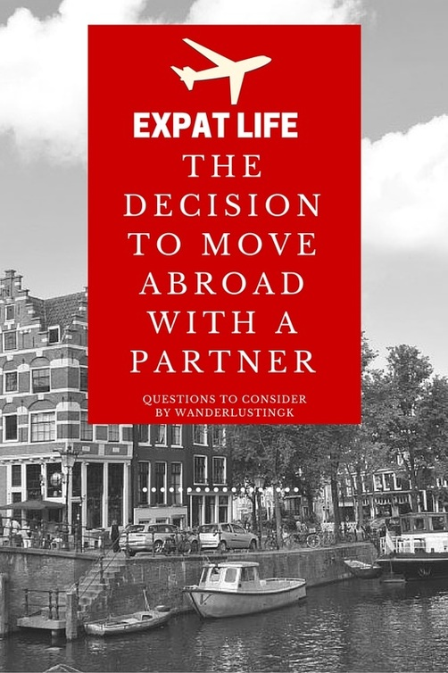 Considering moving overseas for a relationship? Expat advice on if you should move abroad for love and if moving to a new country for love is a good idea.