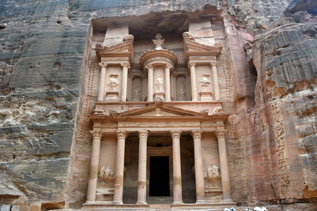 Jordan: Getting there from Israel and the Incredible City of Petra by Wanderlustingk