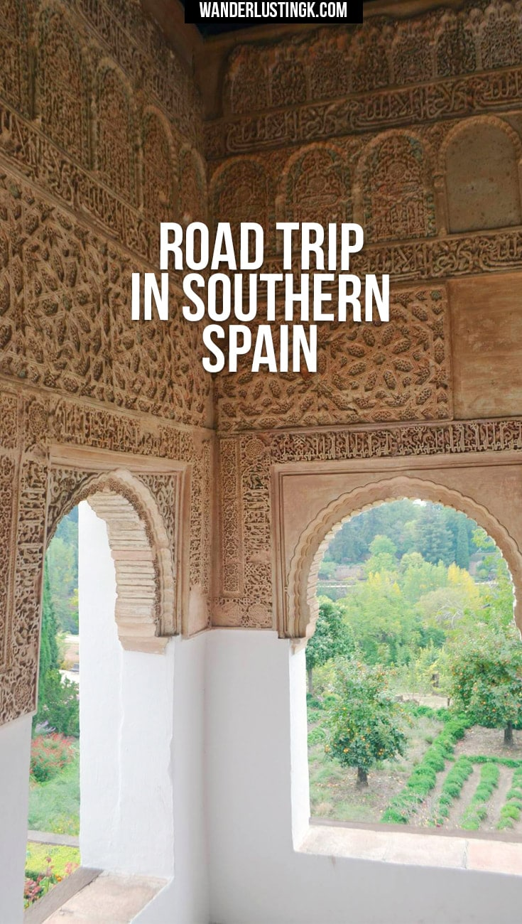 Tips for a road trip around Andalucia, Spain, staying in Pueblos Blancos, the Alhambra and off the beaten path travel.