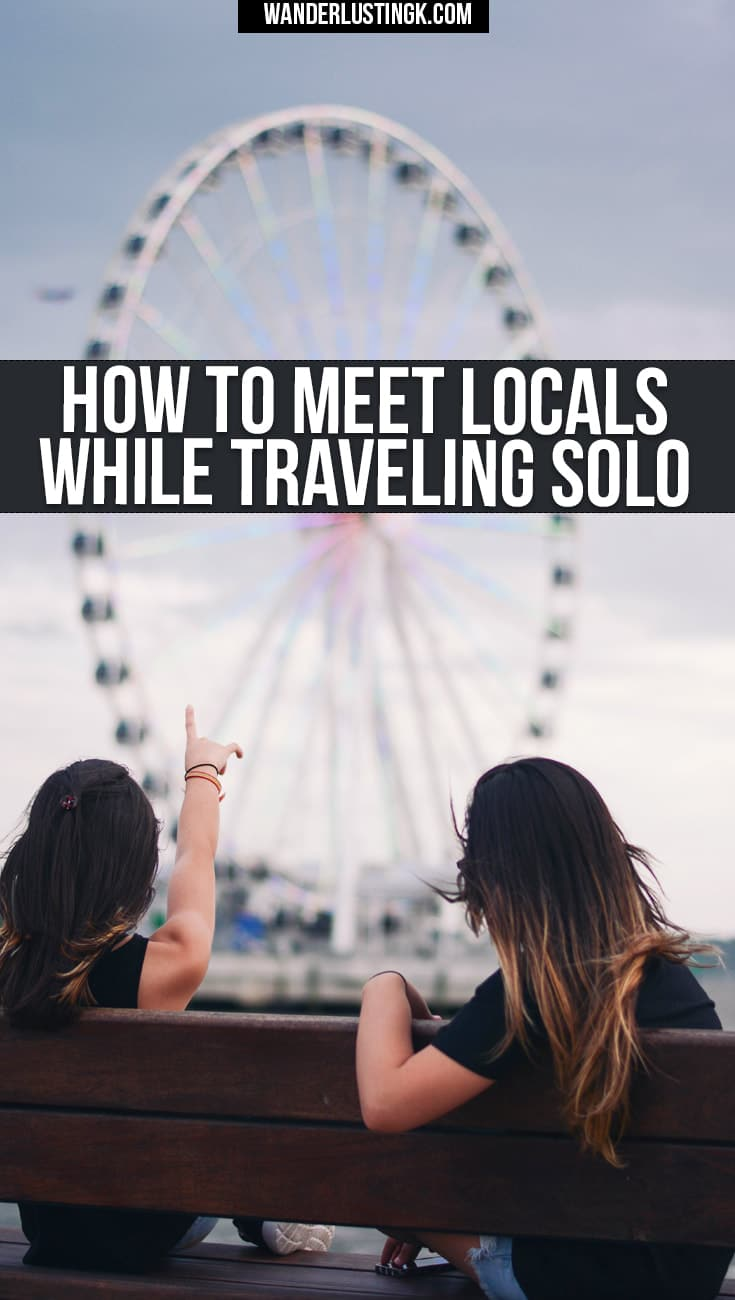 Find out how to meet locals while traveling solo! Tips on using couchsurfing to make new friends while traveling solo, including safety tips.