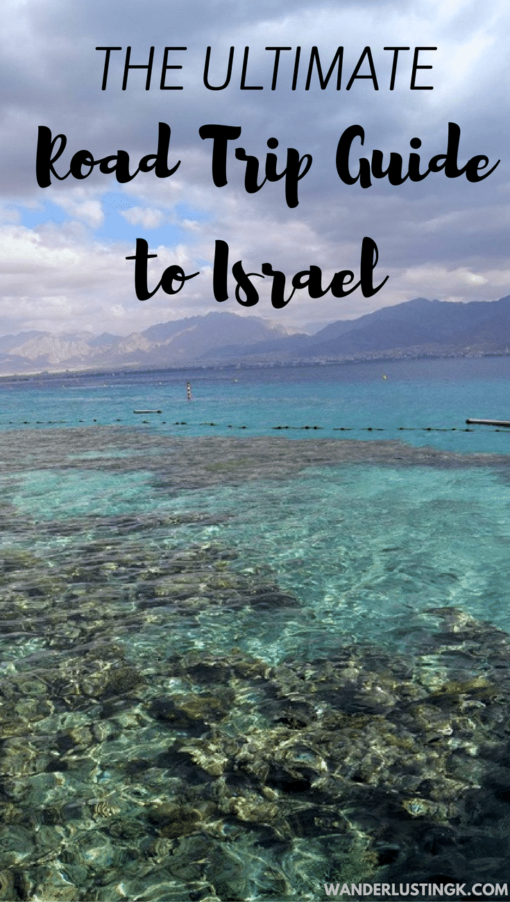 Planning your trip to Israel? Your ultimate guide to a road trip in Israel, including the perfect Israeli road trip itinerary, and driving advice for Israel. Written for independent travelers visiting Israel! #travel #Israel