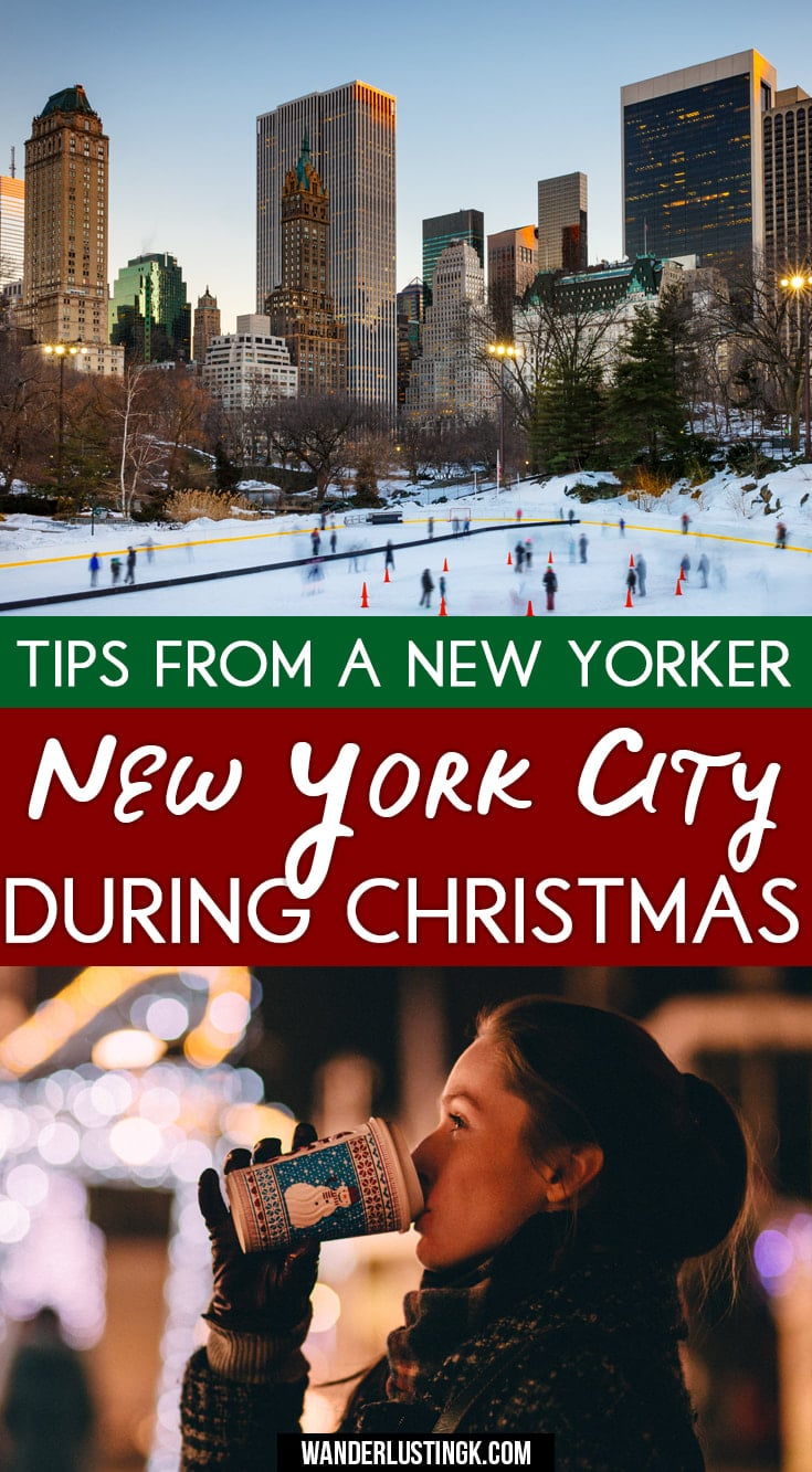 Read Insider tips for NYC from a New Yorker on the best things to do in New York during Christmas and tips for the Christmas Windows in New York!