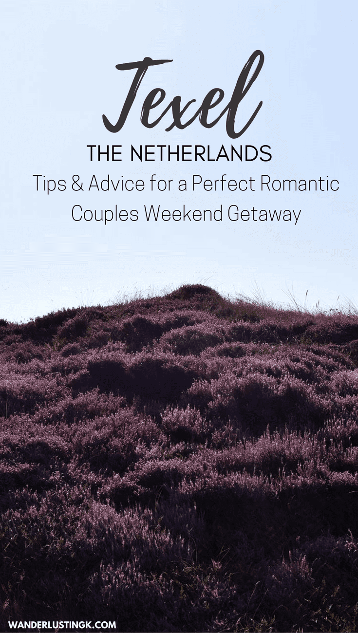 Need a relaxing summer weekend away from Amsterdam? Texel is perfect for a romantic couples getaway away from Amsterdam! Advice & tips for a relaxing vacation in the Netherlands!