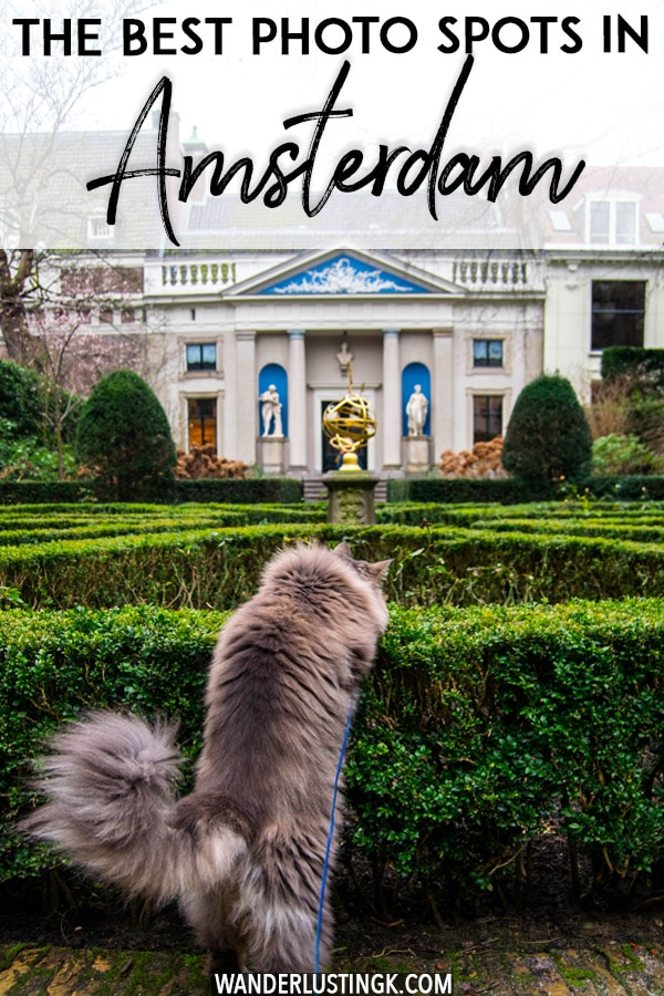 Looking for the best photo spots in Amsterdam? An insider's guide to the most instagrammable places in Amsterdam. #amsterdam #Netherlands #travel