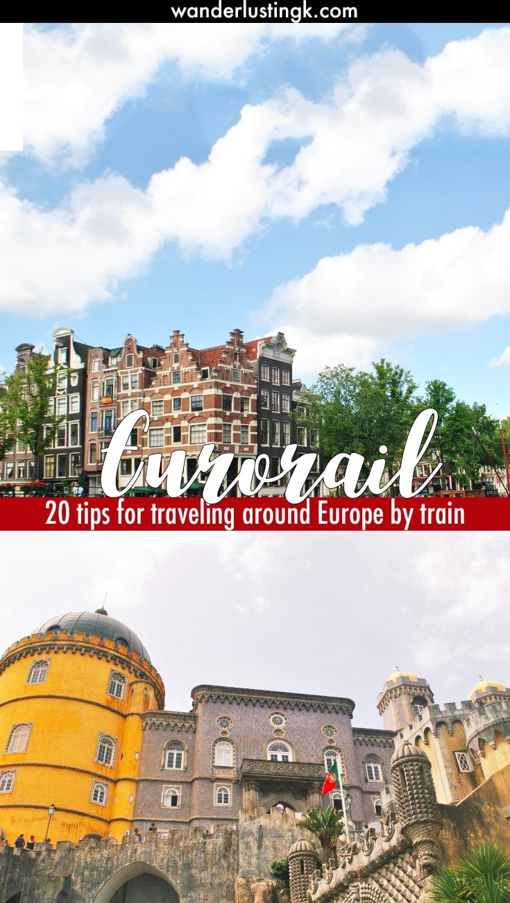 how to get around europe backpacking