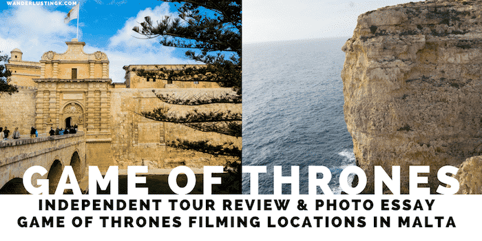 Game of Thrones in Malta: Tour Review