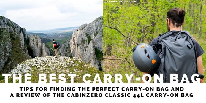 Looking for the best carry-on bag for budget travel or the best lightweight luggage for Europe? Read a review of CabinZero, the best travel backpack!