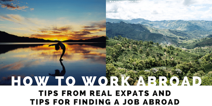 How to work abroad: Professional jobs to help you move abroad