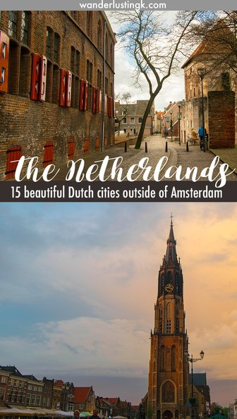 Looking for day trips close to Amsterdam or where to go in the Netherlands? Find out about the best cities to visit in the Netherlands by local bloggers!