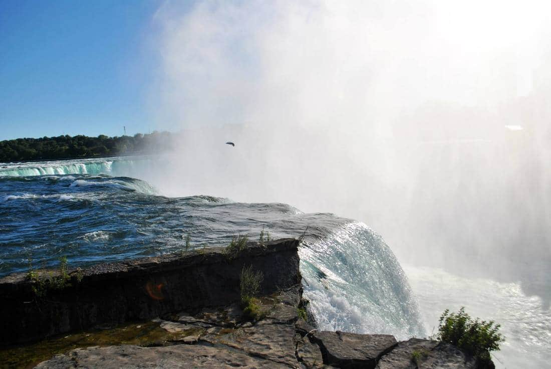 Tips for visiting Niagara Falls State Park including Goat Island. Find out the best viewpoint from American side of Niagara Falls.