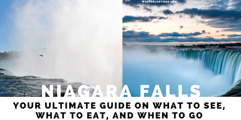 Guide to Niagara Falls with must see attractions in Niagara Falls and itinerary 24 hours in Niagara Falls (Canada & US)