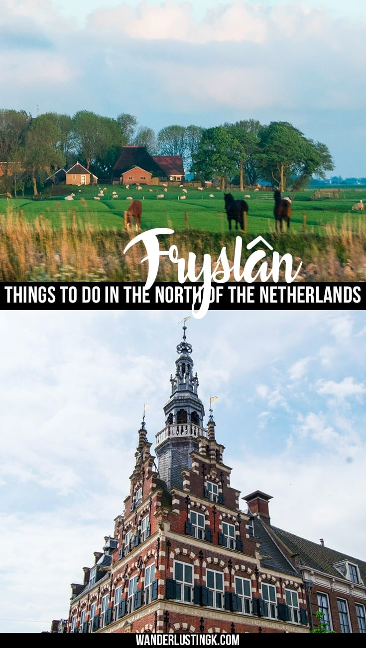 Explore things to do in Friesland for a weekend trip from Amsterdam, including exploring the 11 historic cities of Fryslân and riding Friesian horses.
