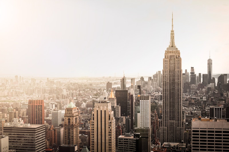 Skyline of New York. Read 20 Insider tips for visiting nyc for the first time!