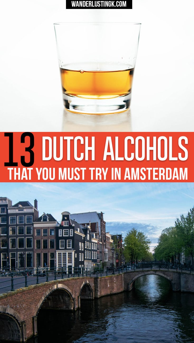 Wondering what to drink in Amsterdam? Your ultimate guide by a local to traditional Dutch alcohols including Dutch spirits and liquors.
