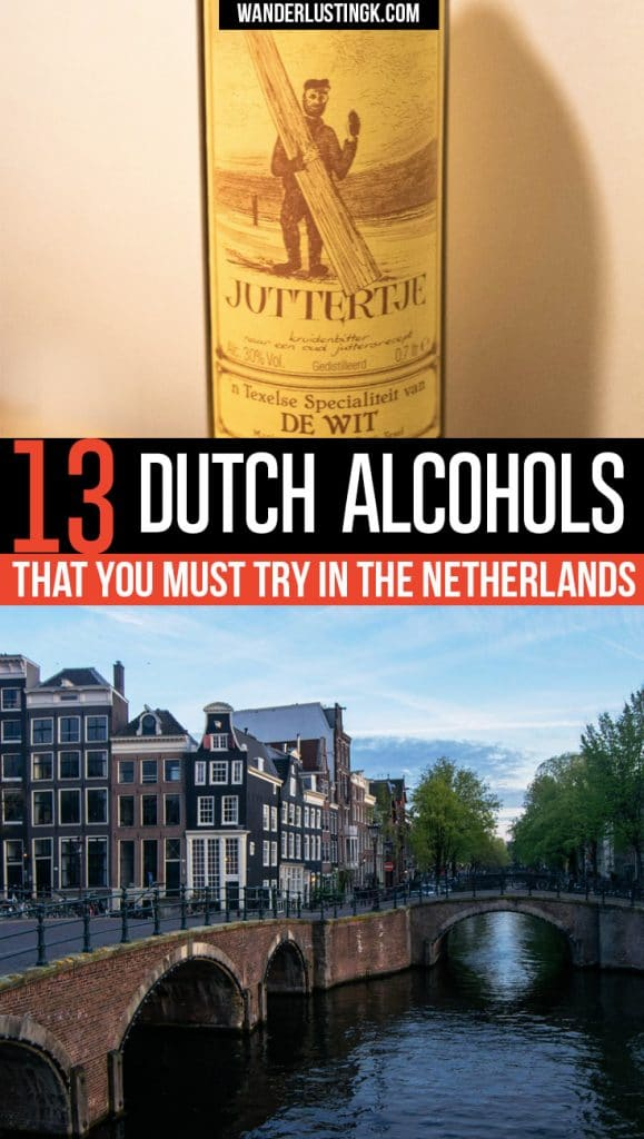 Wondering what to drink in the Netherlands? Your ultimate guide by a local to traditional Dutch alcohols including traditional Dutch spirits and liquors.