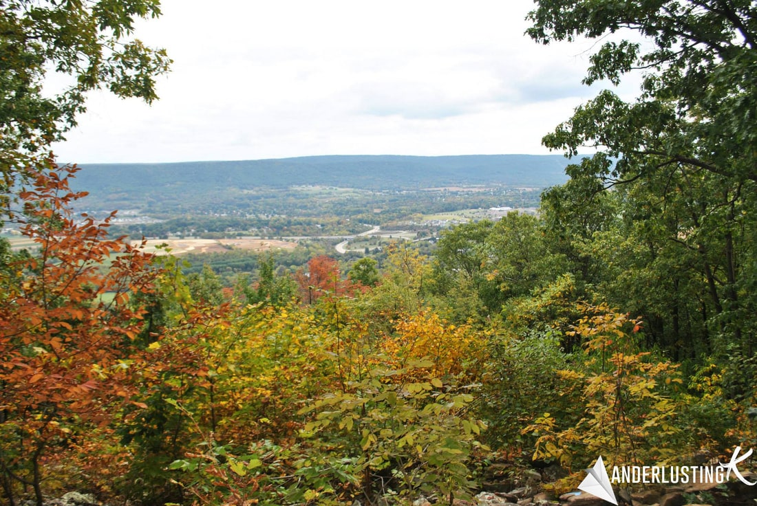 View from Mount Nittany. Read about more day trips from Penn State and things to do in State College.