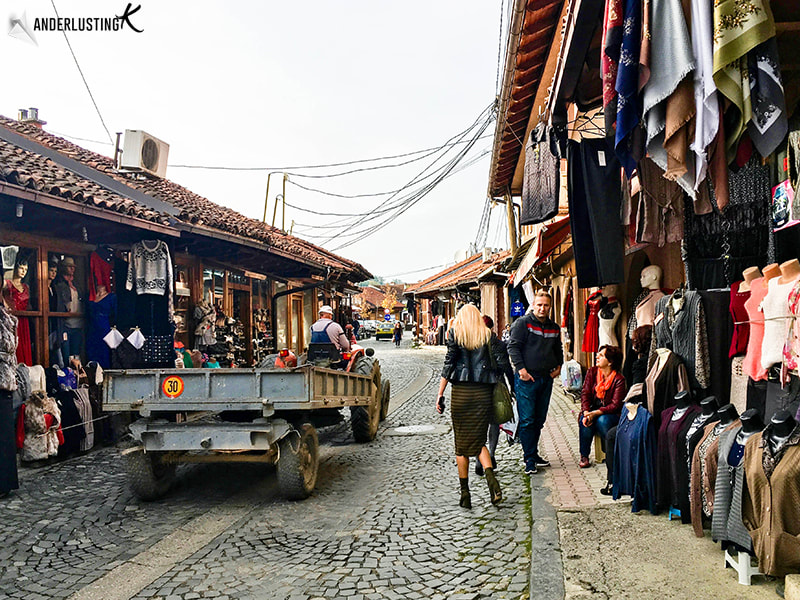 Grand Bazaar Market in Gjakova Kosovo. Find out the best things to do in Gjakova with tips for Kosovo tourism.