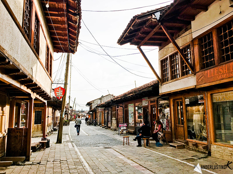 Grand Bazaar in Gjakove, Kosovo. Find out more about the most beautiful cities in Kosovo!