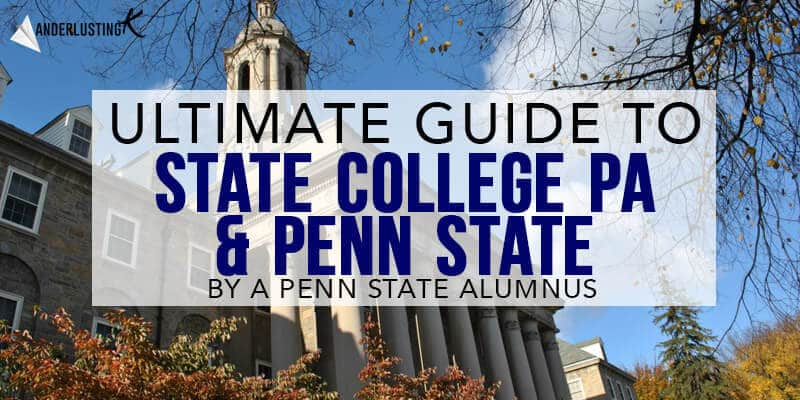 Menu For Olive Garden: Insider's Guide To Penn State With The Best Things To Do
