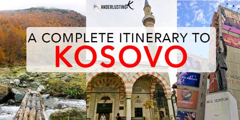 Planning to visit Kosovo? A complete Kosovo itinerary with local tips on the best things to do in Kosovo, including the most beautiful cities in Kosovo!