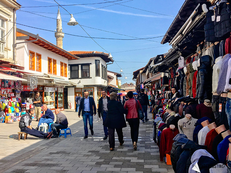 The Bazaar of Peja. Visit Kosovo for incredible markets. Read more about Kosovo tourism!