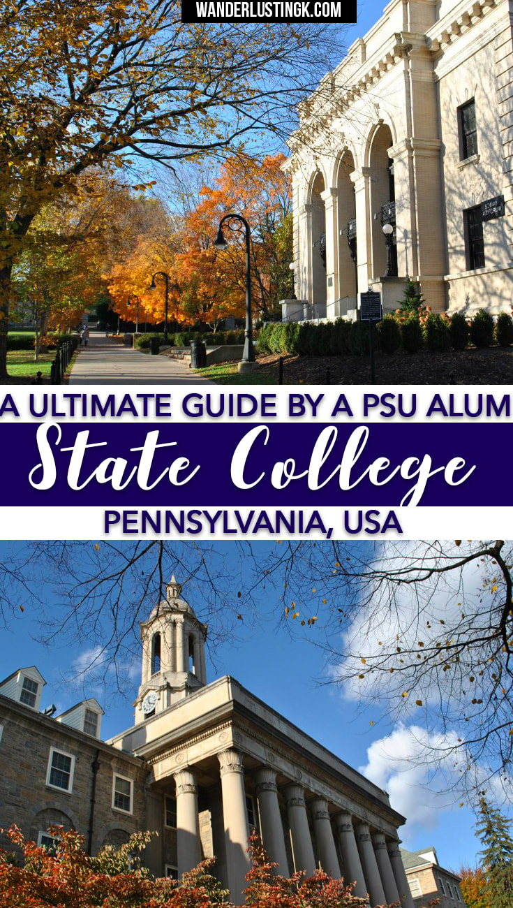Your ultimate guide to Penn State by alum! Find out the best fun things to do in State College, where to party at Penn State, and the best food at PSU!