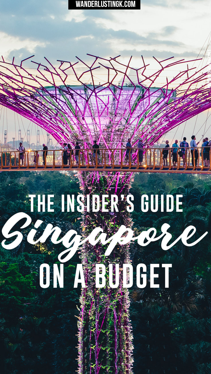 Local tips for visiting Singapore on a budget written by locals with advice on the best things to do in Singapore on a budget & famous food in Singapore.