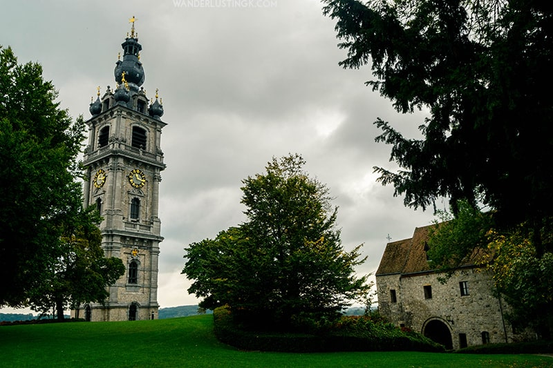 UNESCO recognized Belfry of Mons. Find out about the best places to visit in Mons.