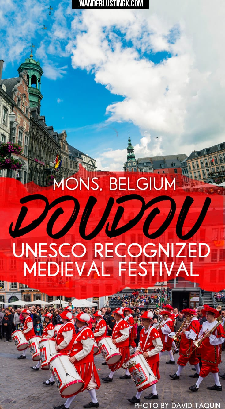 Love UNESCO and cultural travel? Take the perfect day trip from Brussels to Mons, #Belgium and celebrate the #UNESCO recognized Doudou festival. #Brussels