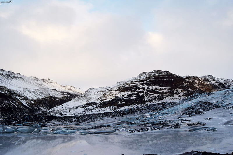 Photo of glacier in Iceland. Find out about the best tours in Iceland in winter.