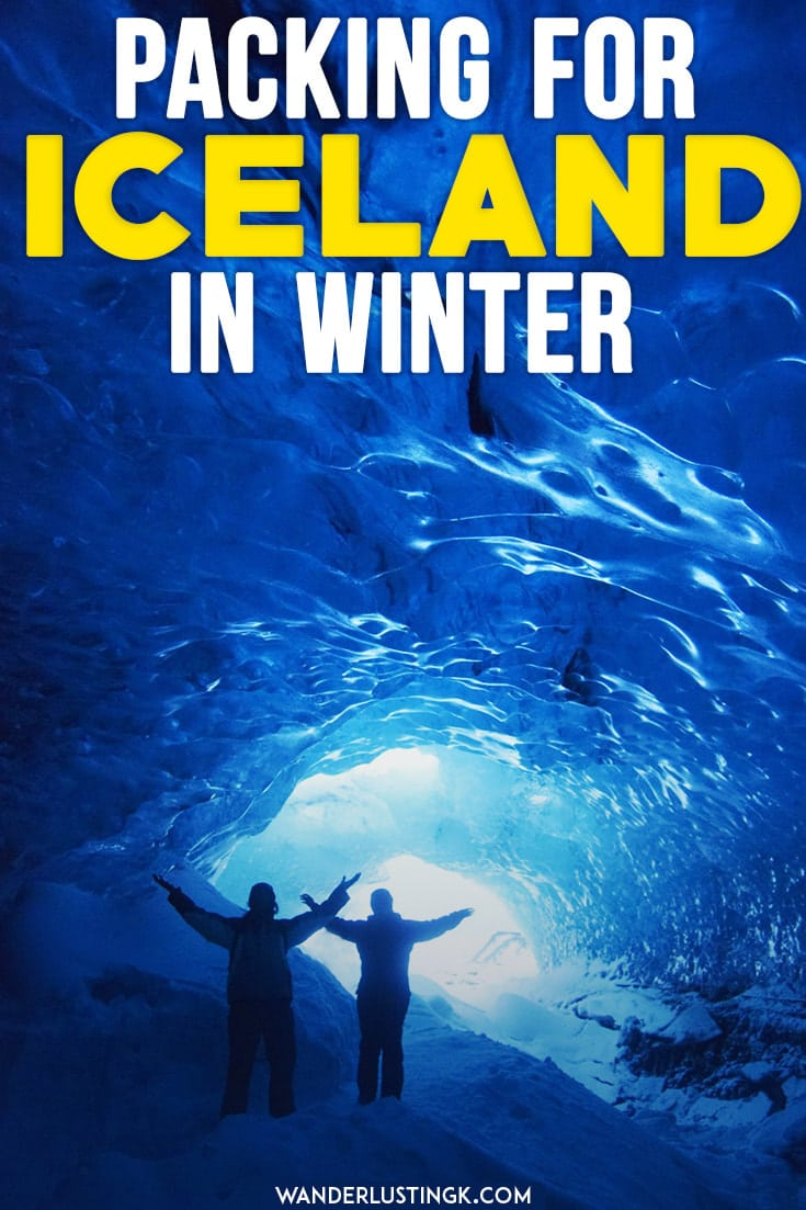 What to pack for Iceland for winter? 0 BS guide to what to wear in Iceland in winter and what should be on your Iceland packing list in winter!