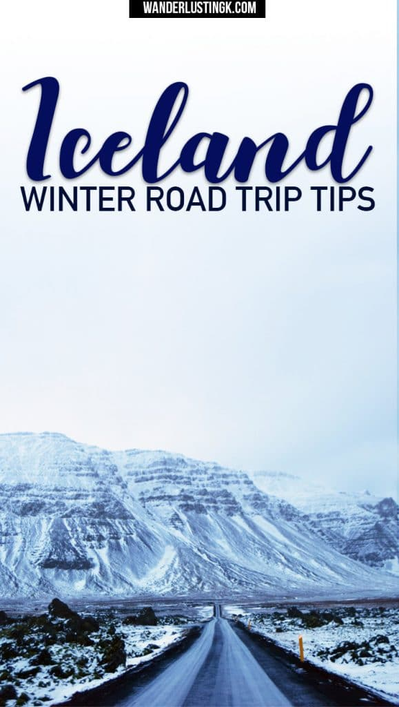 Read travel tips for a road trip in Iceland in winter. Find out what it's like in Iceland in winter, driving in Iceland in winter, and Ring Road in winter