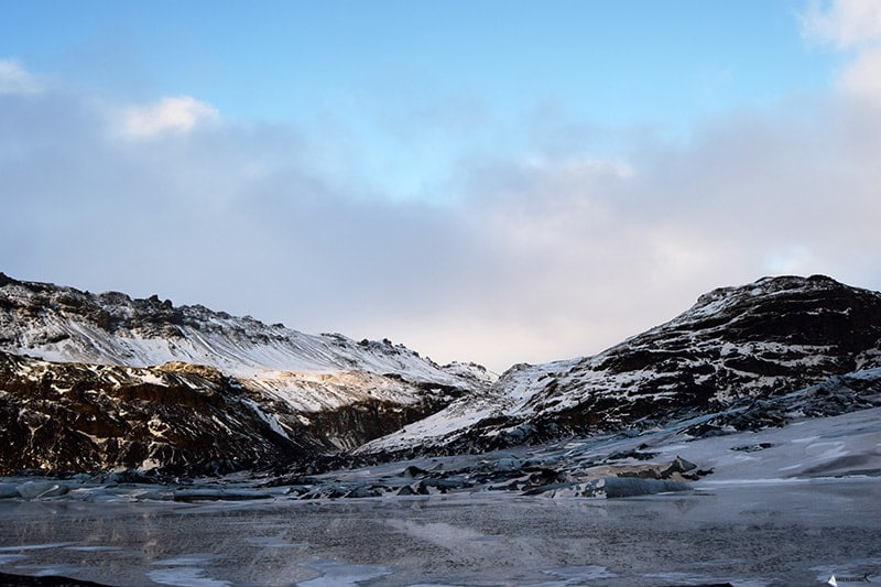 Photo of Glacier in Iceland. Read travel tips for Iceland.