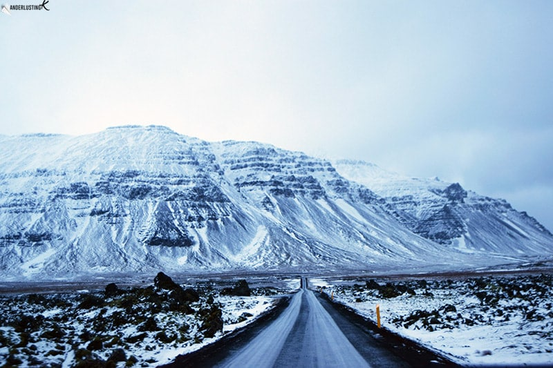 Photo of Ring Road in Iceland. Read tips for a road trip in Iceland & what it's like to do a self driving tour of Iceland in December!