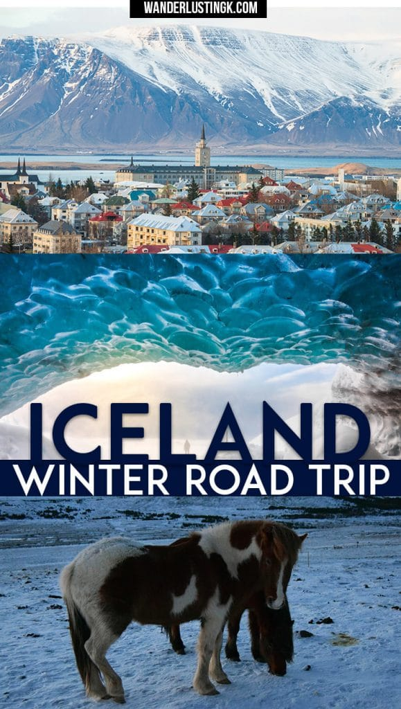 Visiting Iceland in winter? Your complete Iceland road trip in winter guide with full itinerary for Iceland & the best things to do in Iceland in winter
