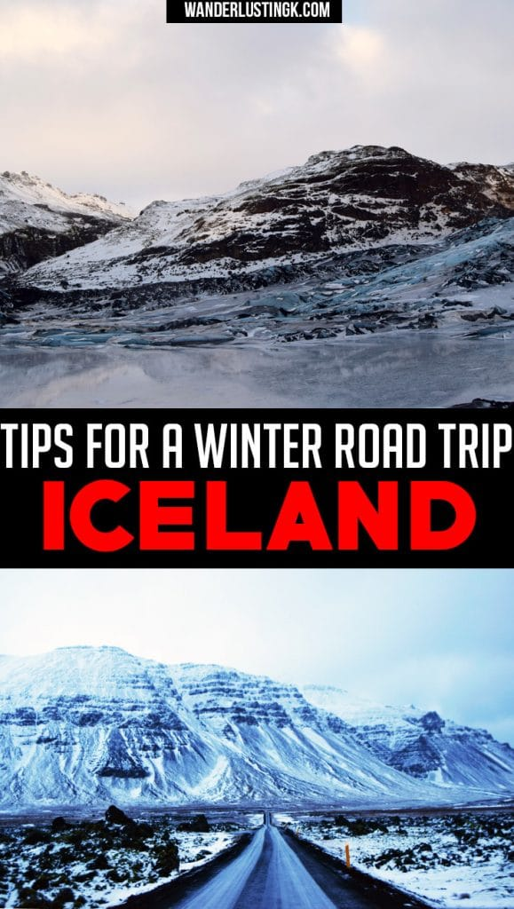 Visiting Iceland in winter? Read travel tips for Iceland about driving in Iceland in winter, Ring Road in Iceland, F-Roads, and rental cars in Iceland.