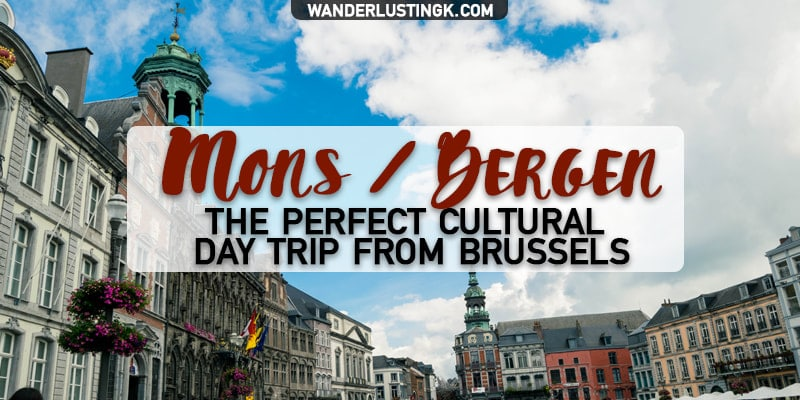 Visit Mons Belgium, one of the best day trips from Brussels! Find out what to do in Mons, about the Doudou festival & interesting things to do in Belgium!