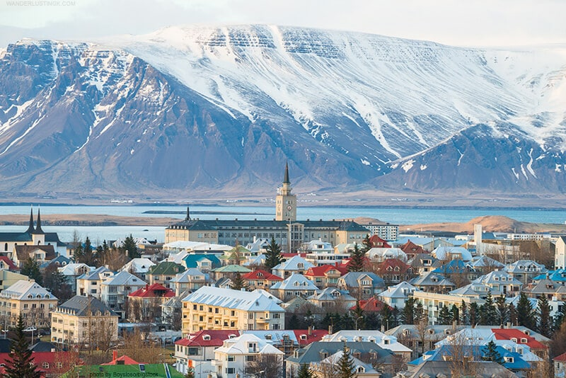 Photo of Reykjavik by bigstock. Read a complete 10 day iceland self drive tour in winter.
