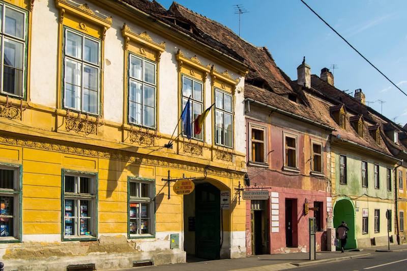 Photo of Sibiu Romania. Find out how you can travel with IBS!