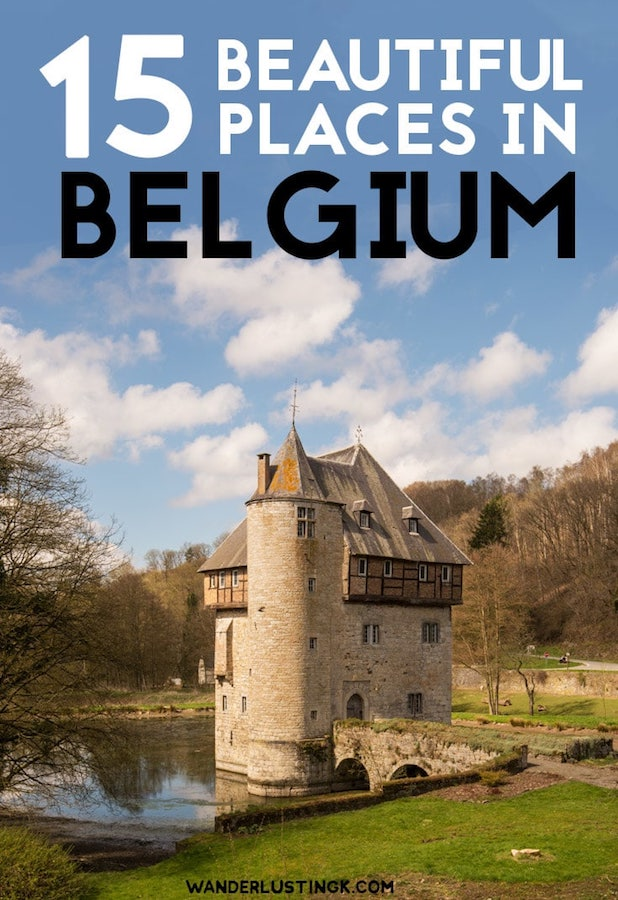 Looking to visit the most beautiful places in Belgium? The best cities in Wallonia Belgium to visit with a day trip from Brussels! #Travel #Belgium #Europe #brussels