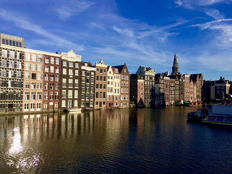 Gorgeous canal houses in Amsterdam. Read about what it's like to live in Amsterdam, the Netherlands as an expat!