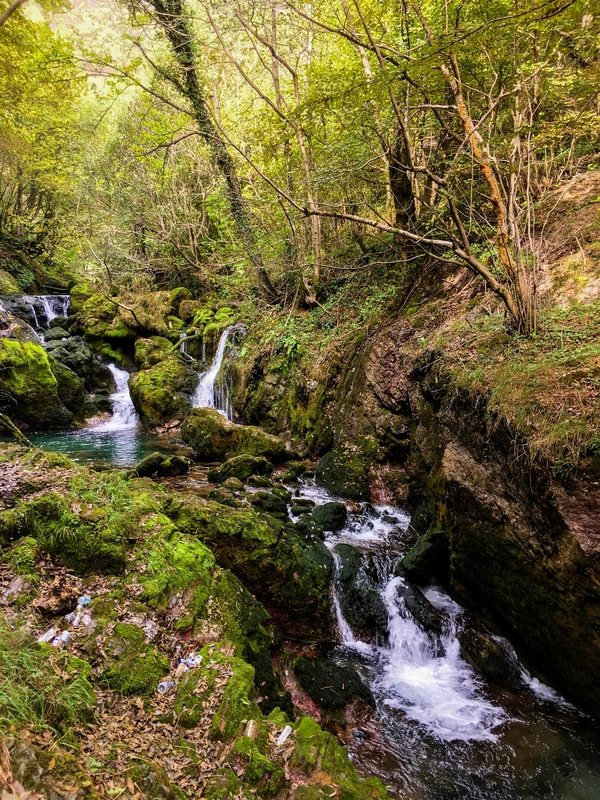 Beautiful stream near White Drin Waterfall in Kosovo. Discover beautiful nature in Kosovo with 40+ beautiful photos! #nature #Kosovo #Balkans #Peja