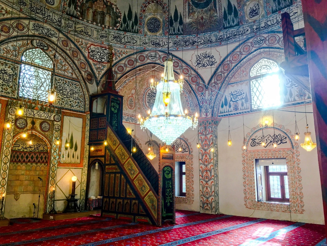 Beautiful Hadum Mosque in Gjakova. See beautiful photos from most beautiful mosque in Kosovo.