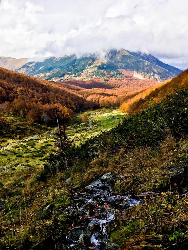 Photo of mountains in Kosovo. See more beautiful photos from Kosovo to inspire your trip to the Balkans. #photography #mountains #Kosovo #fall #Balkans