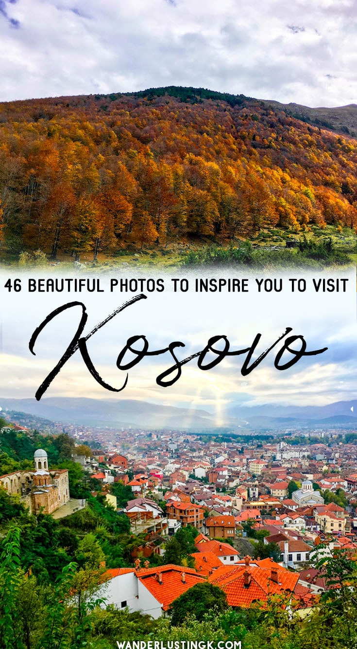 Planning to visit Kosovo? 46 beautiful photos to inspire you to visit Kosovo with beautiful photography of Kosovo in October. #Kosovo #Balkans #Europe