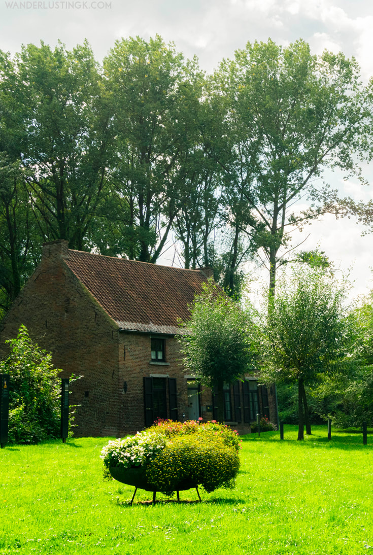 Vincent Van Gogh's house/Maison Van Gogh in Cuesmes, Belgium. Learn about Van Gogh's life in the Borinage & where Vincent Van Gogh became an artist.