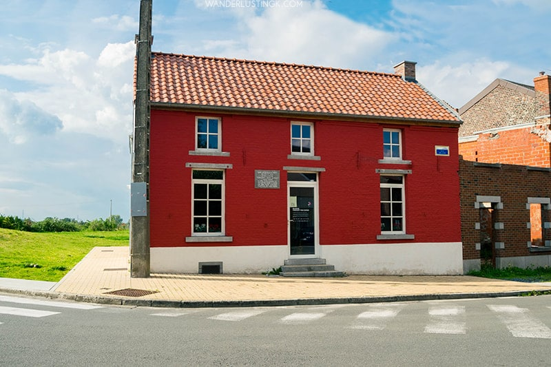 Maison Van Gogh de Wasmes (Van Gogh's House in Colfontaine). Read about Vincent Van Gogh's life in Belgium.
