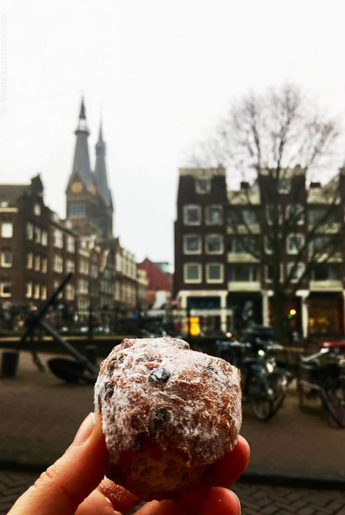 Photo of oliebollen. Read more about the food that you must try in the Netherlands for New Year's Eve and what to know before celebrating NYE in Amsterdam