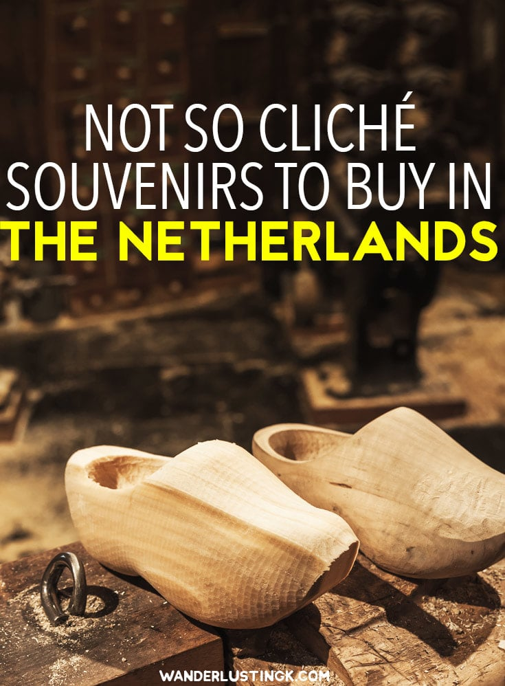 Trying to figure out the best souvenirs in Amsterdam? Non-cliche and unique ideas for souvenirs to purchase in the Netherlands with tips from locals. #Netherlands #holland #Travel #Amsterdam
